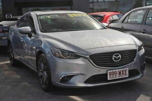 2016 Mazda 6 GL1021 GT SKYACTIV-Drive Silver 6 Speed Sports Automatic Sedan Capalaba Brisbane South East Preview