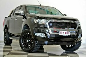 2016 Ford Ranger PX MkII MY17 XLT 3.2 (4x4) Black 6 Speed Automatic Double Cab Pick Up Burleigh Heads Gold Coast South Preview