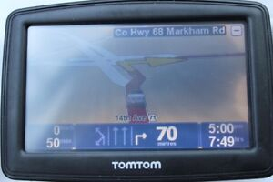 Tomtom Tom-Tom GPS Navigation System with maps of North America