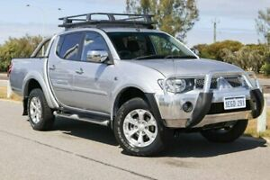 2013 Mitsubishi Triton MN MY13 GLX-R Double Cab Cool Silver 5 Speed Sports Automatic Utility Clarkson Wanneroo Area Preview