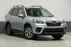 2018 Subaru Forester MY19 2.5I (AWD) Ice Silver Continuous Variable Wagon Bentley Canning Area Preview