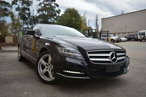 2011 Mercedes-Benz CLS350 CDI C218 BlueEFFICIENCY Coupe 7G-Tronic Black 7 Speed Sports Automatic Port Melbourne Port Phillip Preview
