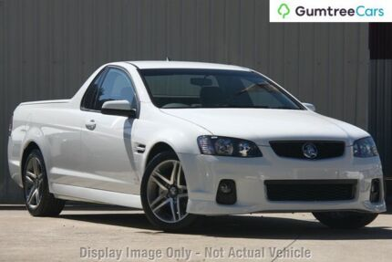 2012 Holden Ute VE II MY12 SV6 Heron White 6 Speed Sports Automatic Utility