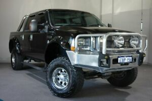 2005 Ford F250 RN XLT Black 4 Speed Automatic Utility Bayswater Bayswater Area Preview