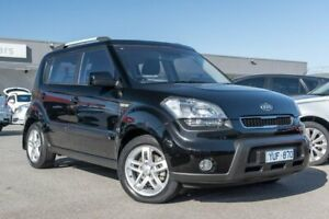 2011 Kia Soul AM MY11 + Black 4 Speed Automatic Hatchback Dandenong Greater Dandenong Preview