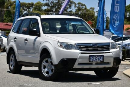 2009 Subaru Forester S3 MY10 X AWD Satin White Pearl 4 Speed Sports Automatic Wagon Willagee Melville Area Preview