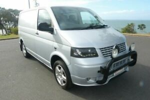 2005 Volkswagen Transporter T5 Low Roof Grey 6 Speed Manual Van South Gladstone Gladstone City Preview