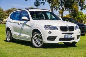 2014 BMW X3 F25 LCI MY0414 xDrive20i Steptronic Alpine White 8 Speed Automatic Wagon