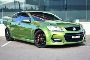 2015 Holden Commodore VF II MY16 SS V Redline Green 6 Speed Manual Sedan Cardiff Lake Macquarie Area Preview
