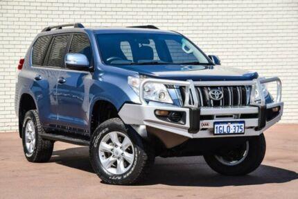 2012 Toyota Landcruiser Prado KDJ150R GXL Blue 5 Speed Sports Automatic Wagon Bayswater Bayswater Area Preview