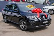 2017 Nissan Pathfinder R52 Series II MY17 ST X-tronic 2WD Black 1 Speed Constant Variable Wagon Brookvale Manly Area Preview