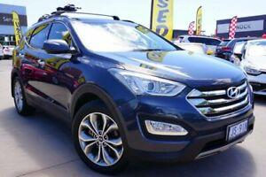 2013 Hyundai Santa Fe DM MY13 Highlander Blue 6 Speed Sports Automatic Wagon