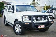 2007 Nissan Navara D40 ST-X White 5 Speed Automatic Utility Archerfield Brisbane South West Preview