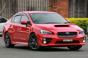2016 Subaru WRX MY17 Premium (AWD) Red Continuous Variable Sedan Zetland Inner Sydney Preview