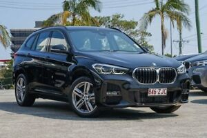 2019 BMW X1 F48 LCI sDrive18i D-CT Black 7 Speed Sports Automatic Dual Clutch Wagon Southport Gold Coast City Preview