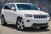 2013 Jeep Grand Cherokee WK MY2014 Overland White 8 Speed Sports Automatic Wagon Maddington Gosnells Area Preview