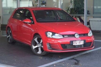 2014 Volkswagen Golf VII MY15 GTI DSG Red 6 Speed Sports Automatic Dual Clutch Hatchback Tweed Heads South Tweed Heads Area Preview