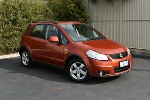 2011 Suzuki SX4 GYA MY10 S Red/Black 6 Speed Constant Variable Hatchback Devonport Devonport Area Preview