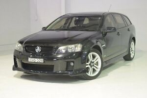 2009 Holden Commodore VE MY10 SV6 Sportwagon Black 6 Speed Sports Automatic Wagon Wadalba Wyong Area Preview