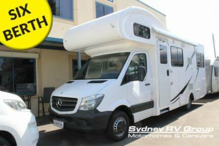 U3897 Talvor Euro Deluxe 6 Berth A Quality Family RV Penrith Penrith Area Preview