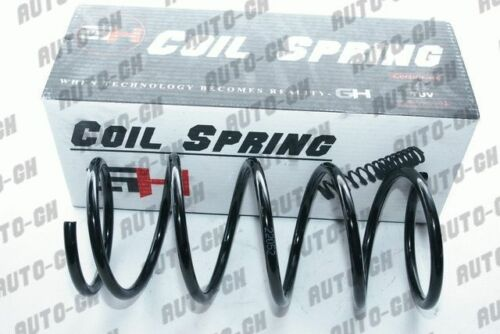 2 REAR COIL SPRING FOR NISSAN SUNNY N14