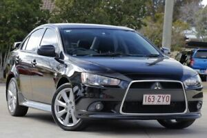 2012 Mitsubishi Lancer CJ MY12 VR-X Black 6 Speed Constant Variable Sedan East Toowoomba Toowoomba City Preview