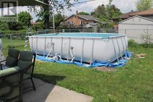 Bestway Power Steel Rectangluar Frame Pool Kingston Kingston Area image 2