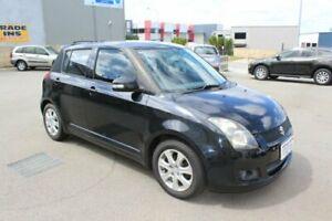 2010 Suzuki Swift EZ MY07 Update RE.4 Black 5 Speed Manual Hatchback Wangara Wanneroo Area Preview