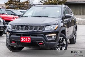 2017 Jeep New Compass ***TRAILHAWK MODEL***LEATHER***NAVI***