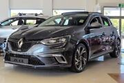2017 Renault Megane BFB GT EDC Grey 7 Speed Sports Automatic Dual Clutch Hatchback Osborne Park Stirling Area Preview