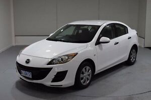 2009 Mazda 3 BL10F1 Neo White 6 Speed Manual Sedan Invermay Launceston Area Preview