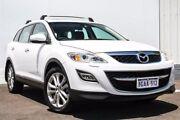 2010 Mazda CX-9 TB10A3 MY10 Luxury White 6 Speed Sports Automatic Wagon Gosnells Gosnells Area Preview