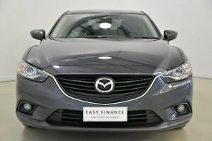 2014 Mazda 6 GJ1031 GT SKYACTIV-Drive Grey 6 Speed Sports Automatic Sedan Mansfield Brisbane South East Preview