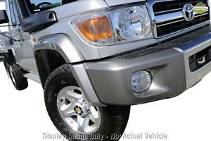 2012 Toyota Landcruiser VDJ79R MY13 GXL Merlot Red 5 Speed Manual Cab Chassis Wangara Wanneroo Area Preview