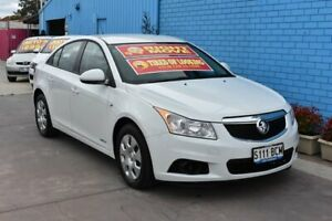 2011 Holden Cruze JH CD White 6 Speed Automatic Sedan Enfield Port Adelaide Area Preview
