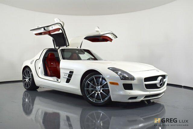 2012 Mercedes-Benz SLS AMG SLS AMG 2dr Car Gas V8 6.3L/379 designo Mystic White