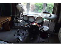 Mapex M Series Drum Kit with cymbals, great for new starters!