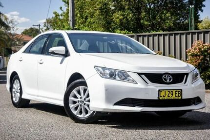 2016 Toyota Aurion GSV50R AT-X White 6 Speed Sports Automatic Sedan Greenacre Bankstown Area Preview