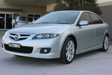 2005 Mazda 6 GG 05 Upgrade Luxury Sports Silver 6 Speed Manual Hatchback Warabrook Newcastle Area Preview