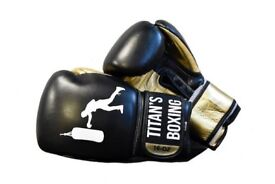 100% Genuine Leather Sparring Gloves From Titan's Boxing