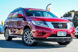 2015 Nissan Pathfinder R52 MY15 ST X-tronic 4WD Red 1 Speed Constant Variable Wagon Cannington Canning Area Preview