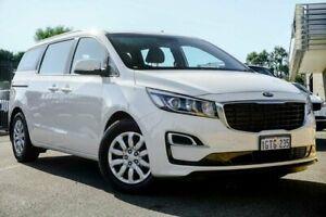 2019 Kia Carnival YP PE MY19 S Clear White 8 Speed Automatic Wagon Wangara Wanneroo Area Preview