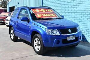 2006 Suzuki Grand Vitara JT (4x4) Blue 5 Speed Manual Wagon Enfield Port Adelaide Area Preview