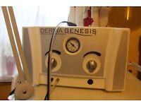 DermaGenesis Medical Microdermabrasion Machine/trolley/treatment bed