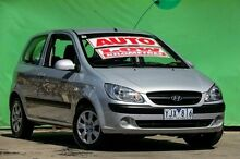 2010 Hyundai Getz TB MY09 S Silver 4 Speed Automatic Hatchback Ringwood East Maroondah Area Preview