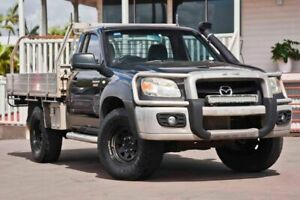 2009 Mazda BT-50 UNY0E4 DX Black 5 Speed Manual Cab Chassis Kedron Brisbane North East Preview
