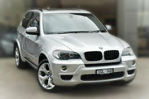 2010 BMW X5 E70 MY10 xDrive30d Steptronic Silver 6 Speed Sports Automatic Wagon Berwick Casey Area Preview