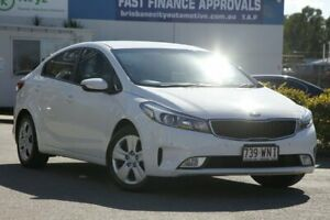 2016 Kia Cerato YD MY17 S Clear White 6 Speed Sports Automatic Sedan Rocklea Brisbane South West Preview