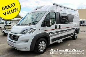 AM044 Adria Twin 600SP Compact Camper With Fold Away Queen Bed Penrith Penrith Area Preview