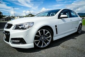 2014 Holden Commodore VF MY14 SS V White 6 Speed Sports Automatic Sedan Parramatta Park Cairns City Preview